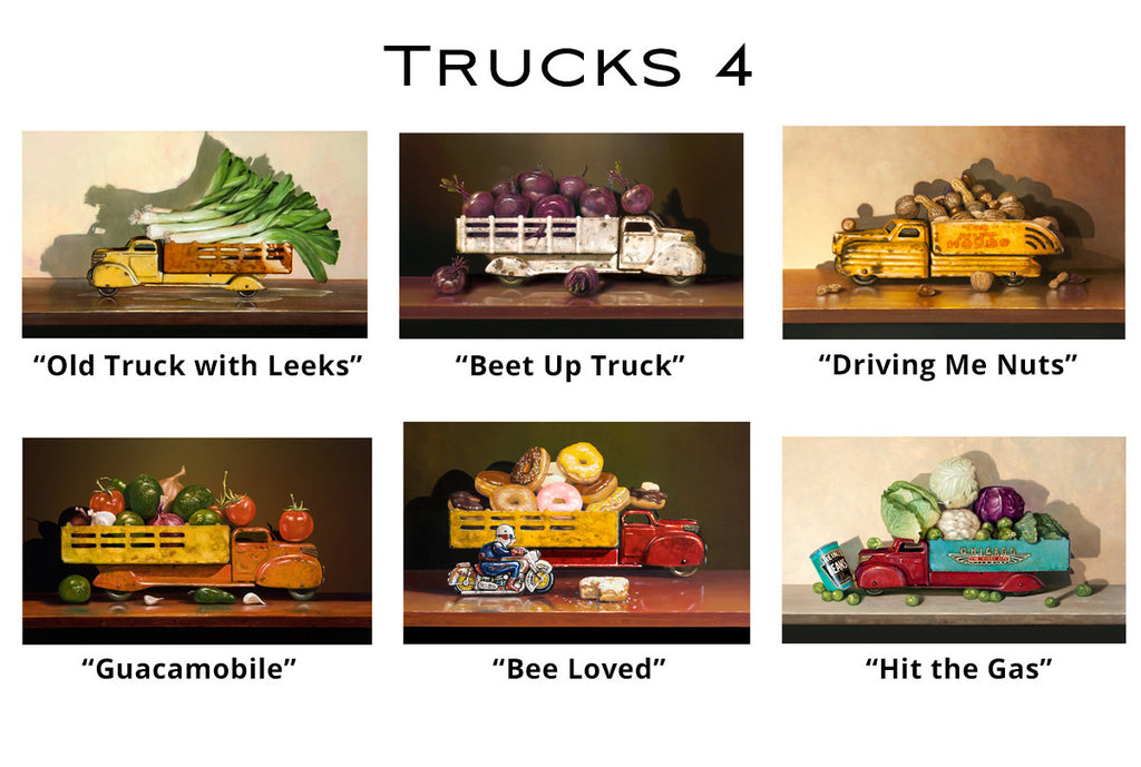 Trucks 4 - Greeting Cards