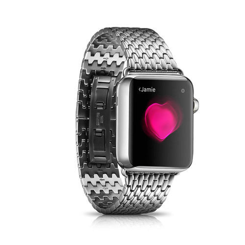 Lusso metal Apple Watch straps