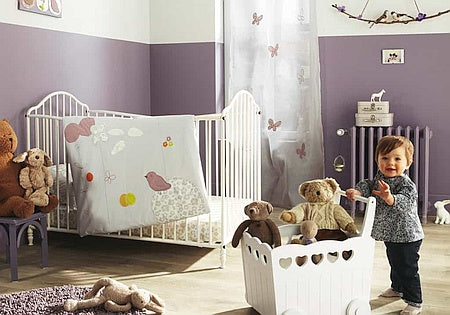 Baby In Nursery Image-Clean Air Plus
