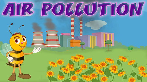 Bee Showing Air Pollution Image-Clean Air Plus Air Purifiers