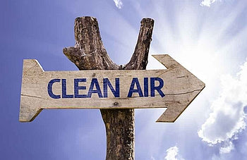 Clean Air Sign-Clean Air Plus