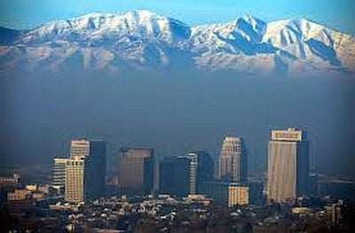 Salt lake City Smog Image-Clean Air Plus Air Purifiers
