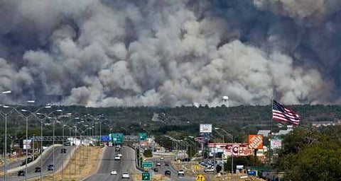 Wildfire And Smoke Image-Clean Air Plus