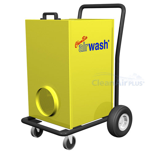 Explore how the Amaircare 6000 Airwash Cart provides industrial strength air purification, removing spores, dust, and more in large spaces.