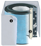 Austin Air HealthMate Plus Jr Filter-Clean Air Plus Air Purifiers