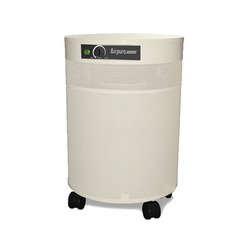 Airpura C600 Air Purifier For Airborne Chemicals Cream-Clean Air Plus Air Purifiers