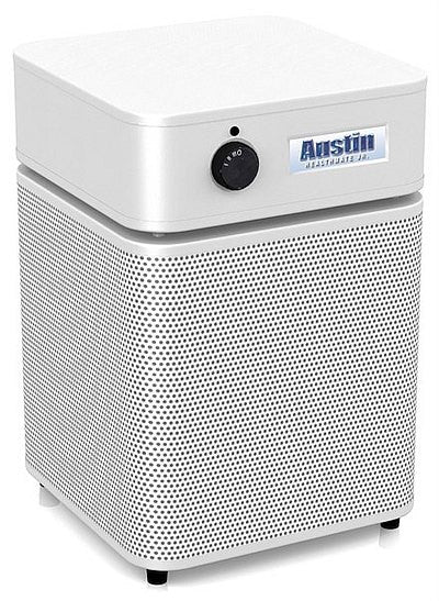 Austin Air Allergy Machine Jr White- Clean Air Plus Air Purifiers