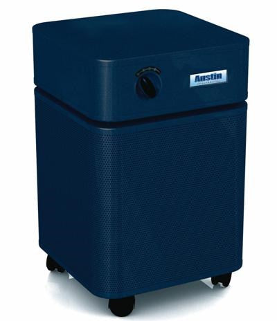 Austin Air HealthMate Standard Size Midnight Blue- Clean Air Plus  Air Purifiers