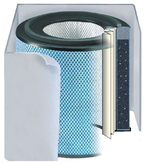 Austin Air HealthMate Standard Size  Replacement Filter White - Clean Air Plus Air Purifiers