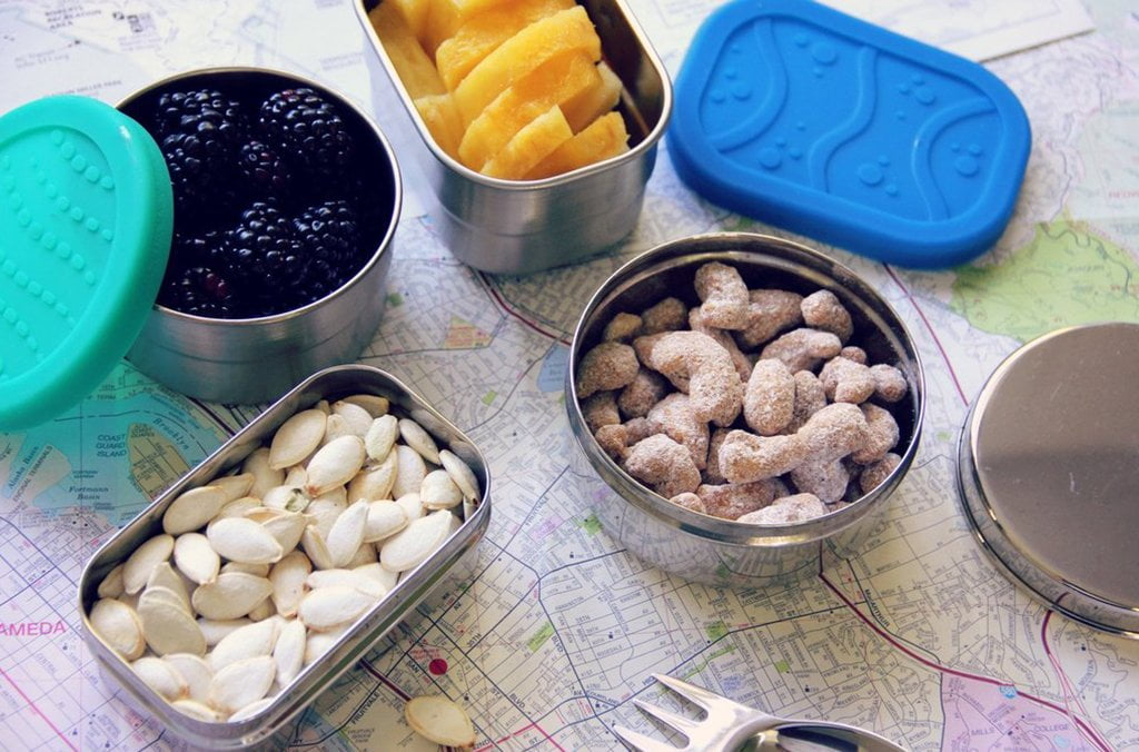 ECOlunchbox Plastic-Free Snack Containers for Road Trips