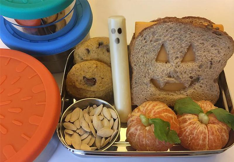 Jennie's Halloween Lunch