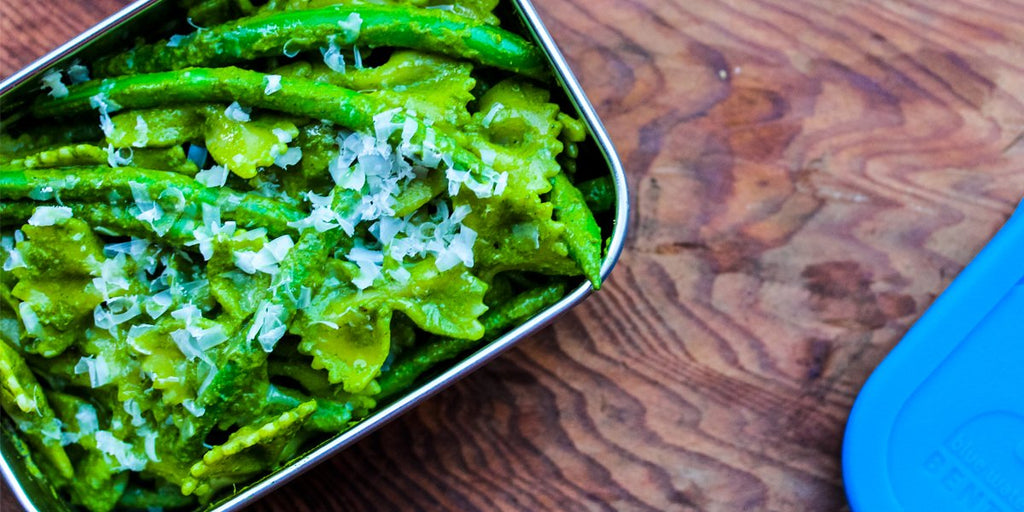 Tis The Season To Love Kale Pesto With Farfalle!