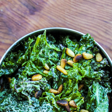Healthy Lemony Kale Salad Recipe
