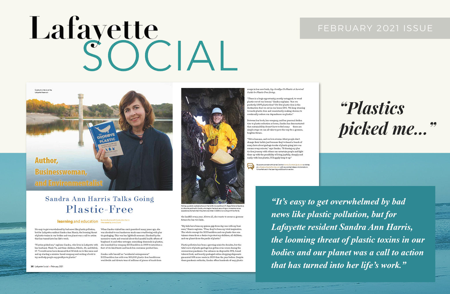 Lafayette Social February 2021 article preview.