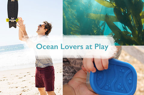 Ocean Lovers at Play