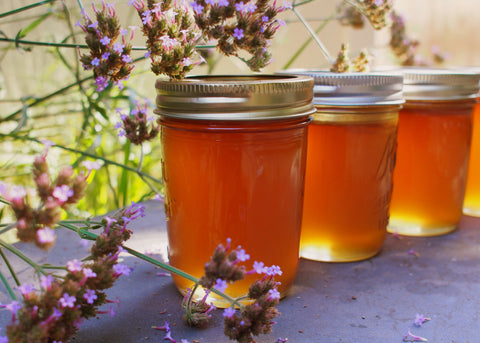 Buying non-toxic, local honey from local beekeeper is eco-friendly and healthy for people and planet.