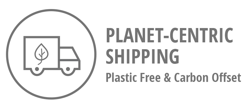 Planet-Centric Shipping Icon