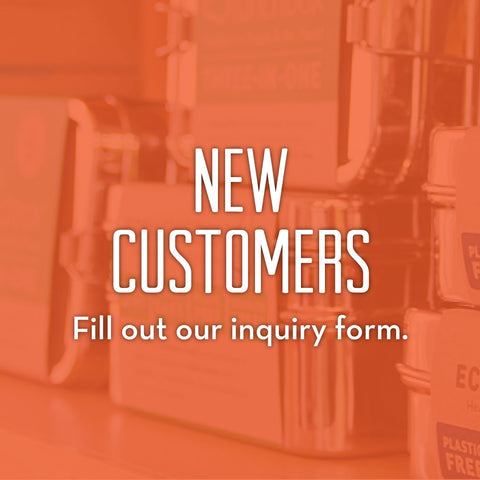 New Customers Fill Out Our Inquiry Form