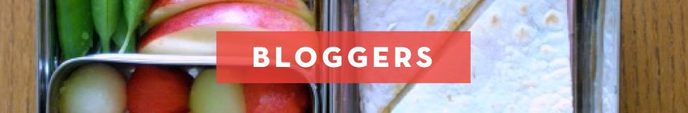ECOlunchbox loves bloggers!