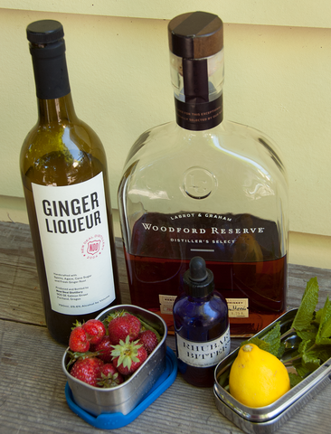 Bourbon Alley cocktail recipe ingredients