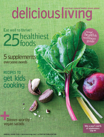 ECOlunchbox Featured in Delicious Living Magazine