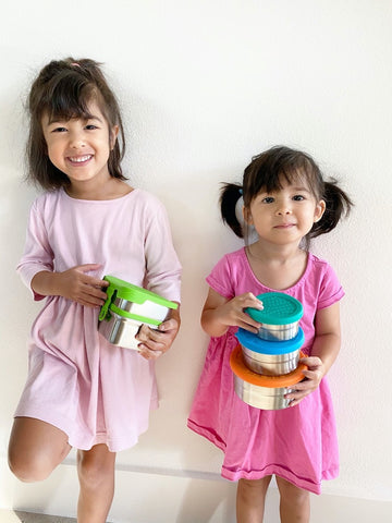 eco lunchbox sealed cup trio