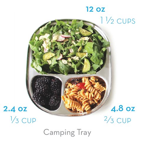 ECOlunchbox Camping Tray