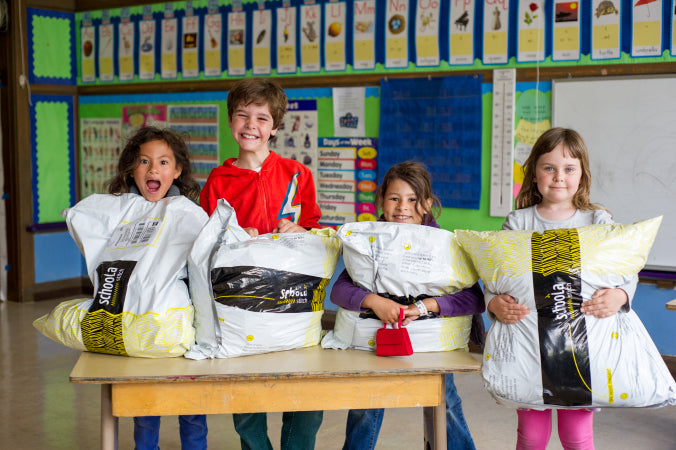 Schoola Clothing Drive Eco-Friendly Fundraising