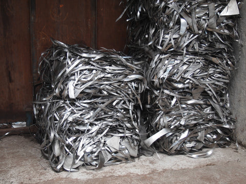 Steel scraps are recycled after production. Full circle!