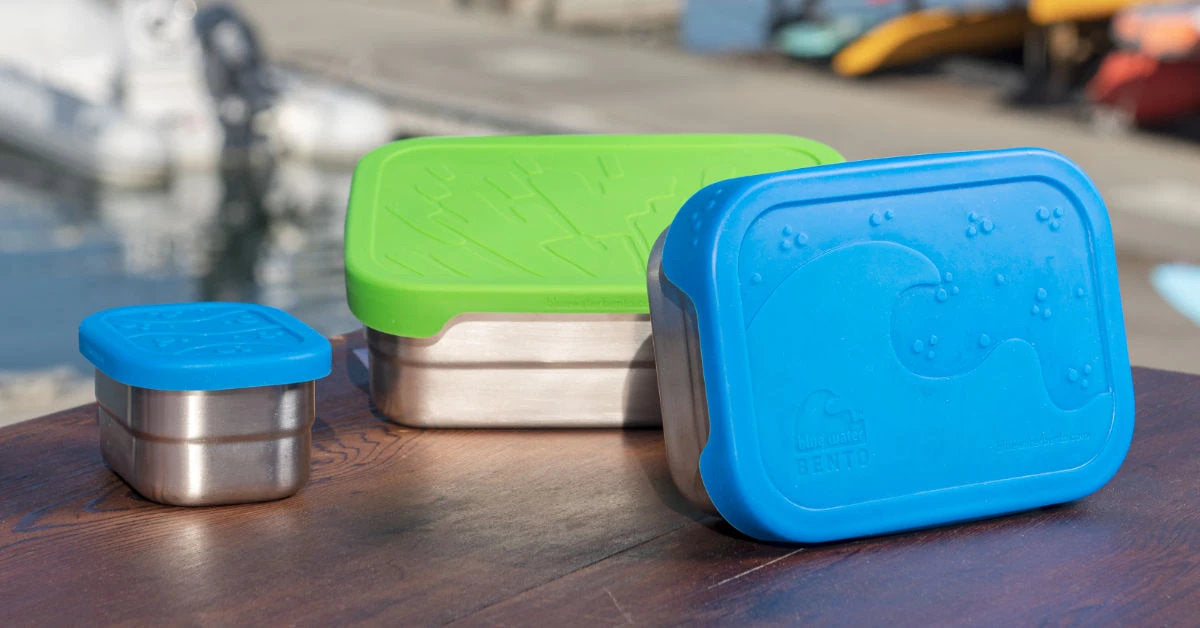Blue Water Bento ECOlunchbox Containers