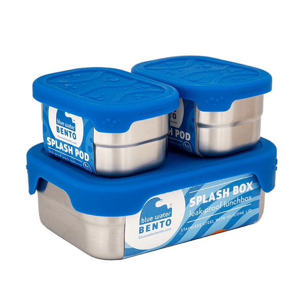 Blue Water Bento Lunch Kits Kit Splash Box and Pods Set