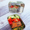 ECOlunchbox Lunch Boxes Solo Rectangle (Leaves)