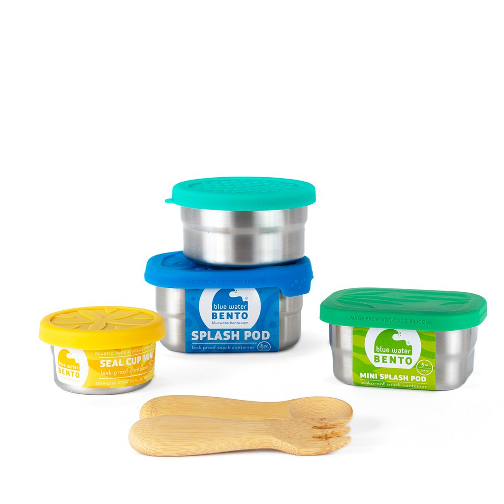 ECOlunchbox Lunch Kits Foursome Snack Pack