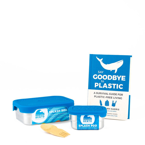 ECOlunchbox Lunch Kits Goodbye Plastic Splash Box Gift Set