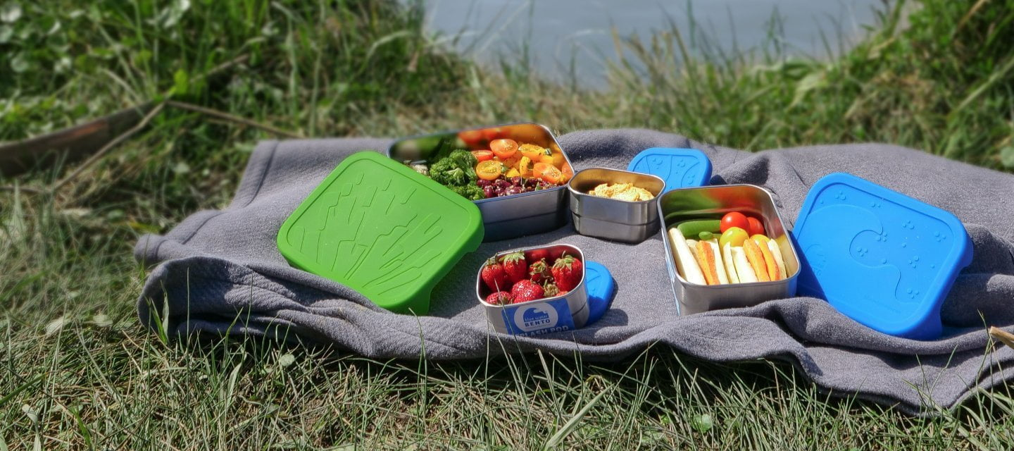 Plastic-free Lunch Bags