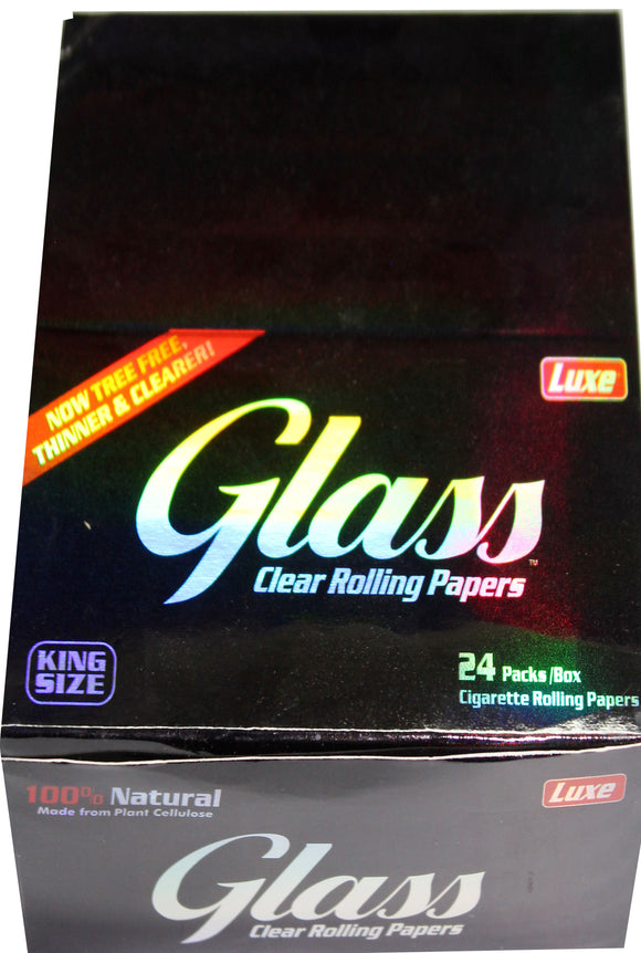 GLASS CLEAR PAPERS 24PACK