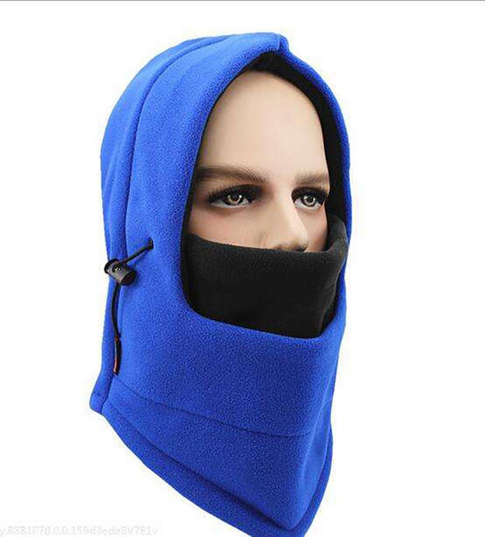 Winter warm Fleece beanies hats for men skull bandana neck Ear warmer
