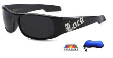 Premium Wrap Polarized Locs With Logo-8loc9090-PZ