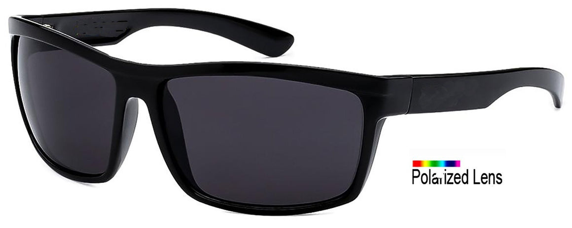 Locs Polarized Wrap Sunglasses
