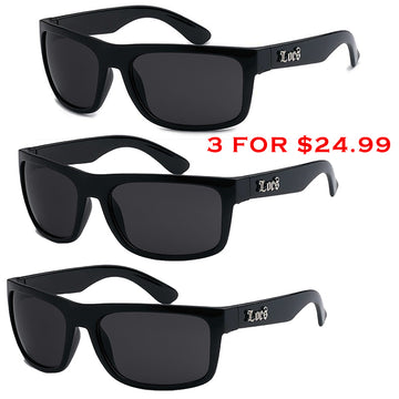 The Tax Collector Locs Sunglasses Combo 3 for $24.99