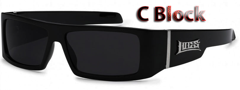 1935a33228 Authentic Gangster Locs Sunglasses ( American Flag)