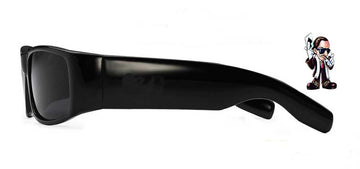 Locs Super Dark Poker Sunglasses Cat 4  ( Matte Finish)
