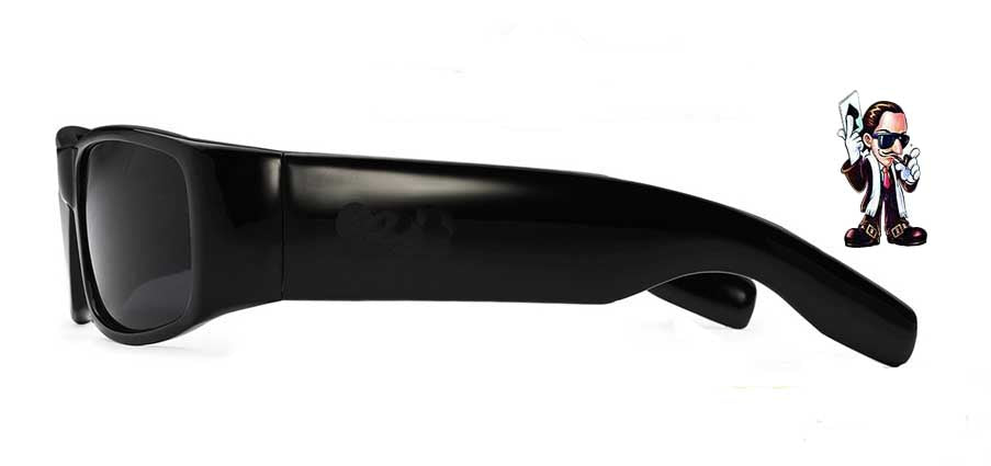 Locs Super Dark Poker Sunglasses Cat 4