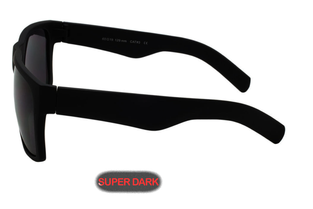 "Super dark black sunglasses "" Mastermind"" Style ( NO Logo)"