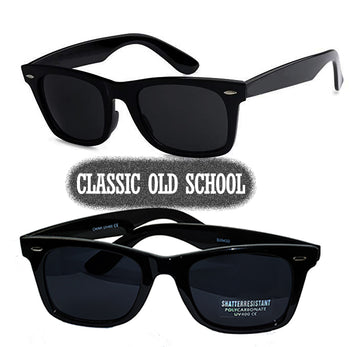 Men's locs Super dark black sunglasses ( NO Logo)