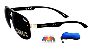 BLACK OPS LOCS Polarized Aviators PZ-LOC88044PL