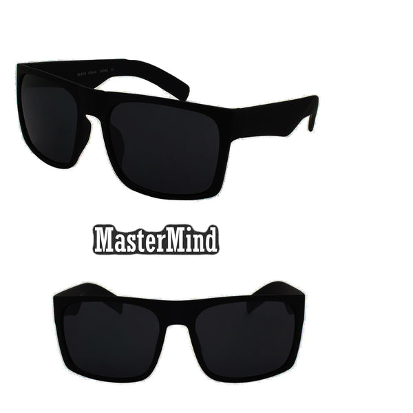 "Dark black sunglasses "" Mastermind"" Style ( NO Logo)"