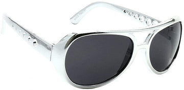 Silver Elvis Sunglasses