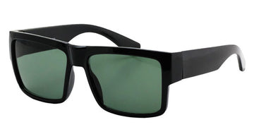 Glass Lens Flat Top Shades