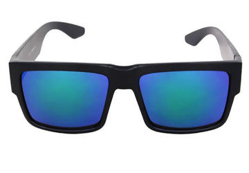 Dark Reflective Blue-Green Lens locs